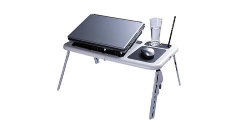 Tavolino vassoio per letto regolabile in for Tavolino vassoio