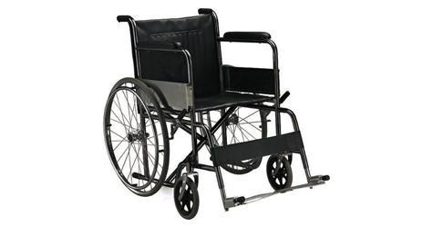Sedia A Rotelle Carrozzina Pieghevole Standard Disabili E Anziani Adulti