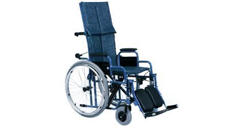 Sedia a rotelle carrozzina pieghevole ad autospinta con for Larghezza sedia a rotelle